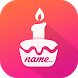 Name on Cake by Fundoo