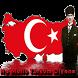 Turkish Flag Wallpaper by gabrielsoft