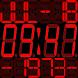 Red Digits Sony Smartwatch by J. Moeller