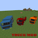 Mod Truck for MCPE by car mod for mcpe