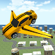 Flying Muscle Transformer Car by FoxyGames