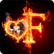 Fire Text Photo Frames by Photo Collage Developer