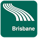 Brisbane Map offline by iniCall.com
