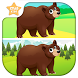 Animal Spot the Difference for toddler and Kids by Star Kids