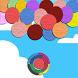 Color Bubblez Polygonal by Fellow Gagger