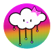 KawaiiRainbow Go Launcher by SugarBunPrints