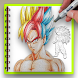 How To Draw Super Saiyan HD by lifestyles0414