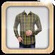 Man Check Shirt Photo Suit by jnssofttech