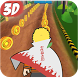 Endless Subway Ninja Rush 3D by Buzz App Cool
