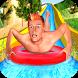 Water Slide Park Racing Adventure