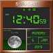 Moon Phase Alarm Clock by SoloSeal
