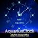 12星座☆水瓶座アナログ時計ウィジェット by jfd