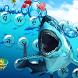 Cool sea shark keyboard theme by Hello Cool Keyboard For 2017 Feb.