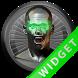 Poweramp Widget Green Atlantis by Maystarwerk Skins & Widgets Vol.1
