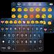 Smile Emoji Keyboard Theme by Colorful Art