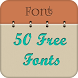 50 Fonts for Samsung Galaxy 11 by Free Font Style for Android