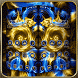 Golden Flower Sapphire by Beauty your phone