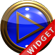 Poweramp Widget Blue Gold
