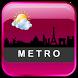 Metro Clock Widget by Us Droid