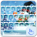 Cute Snowman Keyboard Theme by Sexy Apple