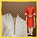 Men Sherwani Suit Photo Maker by enginair
