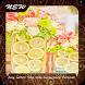 Easy Lemon Slice Vase Centerpiece Tutorials by GoDream Studio