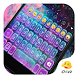 Glitter Galaxy Eva Keyboard by Eva Colorful Design Team
