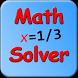 Math Solver - Beta