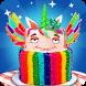 Unicorn Rainbow Cake Desserts by shafay Labs