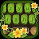 Grass keyboard. Plant, flower keyboard