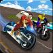 Superhero Motorbike: Moto Rider Racing