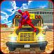 Spider Hero School Bus Driving 2017