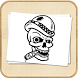 How To Draw Skull Tattoo by TripleTe