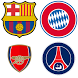 Football Club Logo : Short Name Quiz