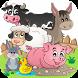Flashcards - Farm Animal Kids by On Happy Days
