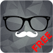 Hipster Clock Free - UCCW Skin by dgdesigns