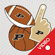 Purdue Boilermakers Animated Selfie Stickers