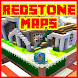 Redstone maps for minecraft PE by rubyroid