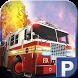 3D Firetruck Parking by Bobbys Garage