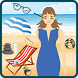 Surfing Girl Beach Spa Surgery by Delta Studios