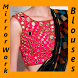 Mirror Work Blouse Designs Collection HD by Mind Vison apps