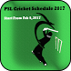 PSL Cricket Schedule 2017 by Anas Apps