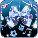 Glitter Diamond Bow Theme Blue Shiny Bow by LXFighter-Studio