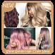 Shiny Geode Hair Color Ideas by Triangulum Studio