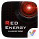 Red Energy V Launcher Theme by V Launcher
