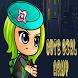 Anime Girl Run : Jungle Island by Lab Enthronet