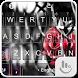 Dangerous Rose Keyboard Theme by Emoji Free Themes
