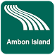Ambon Island Map offline by iniCall.com