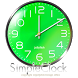 シンプルなアナログ時計ウィジェット【グリーン】 by jfd