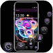 Cool colorful spinner lock screen & theme by Theme and keyboard design team